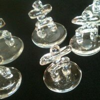Glass Inukshuk. City Commission
